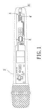 patent us6731762 wireless microphone having a charger circuit patent drawing