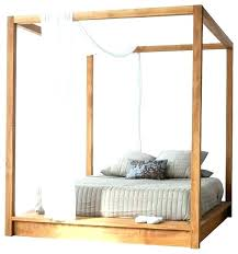 Rustic Canopy Bed Impressive On Platform Canopy Bed With Series Beds ...
