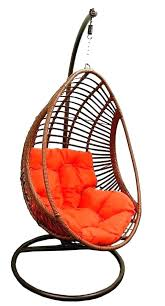 wicker egg swing chair outdoor hanging chairs canada