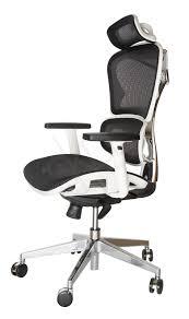white frame office chair. 123456789 White Frame Office Chair N