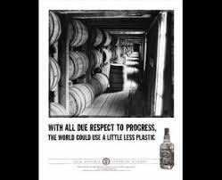 plastic jack daniel s tennessee whiskey print ad plastic jack daniel s tennessee whiskey arnold worldwide new york jack daniel s print
