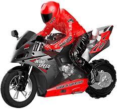 "RC Motorcycle Remote Control,14"" RCMotorcycle <b>2.4g Stunt Car</b> ..."
