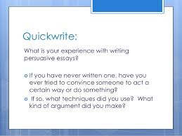 persuasive writing lesson powerpoint persuasive writing 2