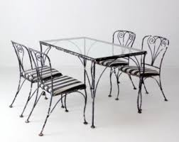 wrought iron wicker outdoor furniture white. Black Rod Iron Patio Chairs. Wrought Furniture Wicker Outdoor White