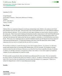 Sponsorship Proposal Cover Letter Template Beauteous Format For Sponsorship Letter