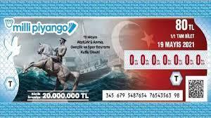 Milli Piyango 19 Mayıs Özel Çekilişinde Büyük İkramiye 20 Milyon TL