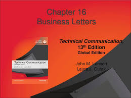 Chapter 16 Business Letters Ppt Download