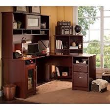 office hutch desk. Bush Furniture, Cabot Collection, Office Home Office, Desk, Hutch , Desk