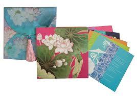 Vivek Sahni Design Colourful Printed Invitations By Vivek Sahni Design