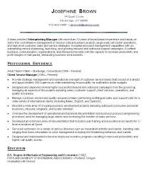 Customer Service Manager Resume Portrait Customer Service Manager Resume  Wonderful Sample Resumes For 11 Objective Depict