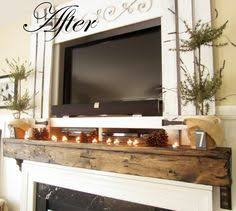 upgrade your builder mantel easy ideasfireplace mantelstv fireplace mantel with tv decorating ideas r72 decorating