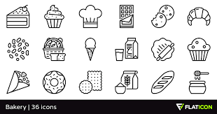Bakery 36 Free Icons Svg Eps Psd Png Files