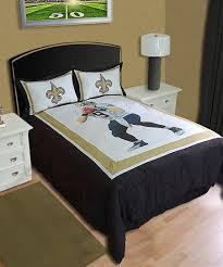 orleans saints drew brees comforter set