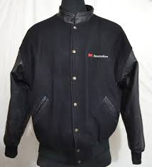 3m innovations by trimark men s varsity jacket with leather sleeves made in canada m 42 1 4 kg