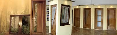 usi interior din lemn stratificat pline