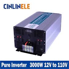 popular 12v inverter circuit diagram buy cheap 12v inverter smart series pure sine wave inverter 3000w clp3000a 121 dc 12v to ac 110v 3000w