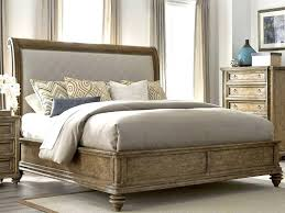 Leather Sleigh Bed King Double Standard Size – 3dpixeldesign.com