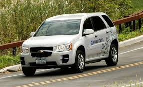 2008 Chevrolet Equinox Hydrogen Fuel-Cell Vehicle | First Drive ...