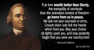 TOP 40 QUOTES BY SAMUEL ADAMS Of 40 AZ Quotes Awesome Samuel Adams Quotes