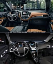 2018 chevrolet equinox interior. simple interior 2018 chevrolet equinox vs 2016 interior for chevrolet equinox