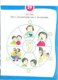 Manners And Table Worksheet For Kindergarten Grade Good
