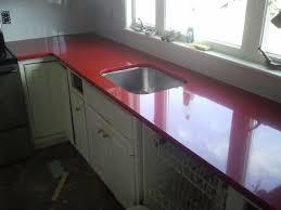 replacement silestone countertop in rosso monza