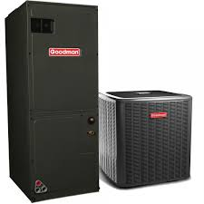 goodman electric furnace. goodman 3.0 ton 16 seer variable speed air conditioning system w/ electric heat furnace