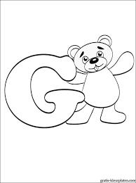 Letter G Kleurplaat Gratis Kleurplaten
