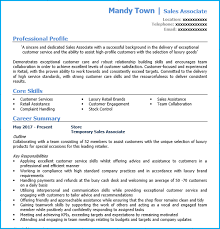 Tell Me About Your Previous Work Experience In Customer Service Retail Sales Assistant Cv Example Writing Guide And Cv Template