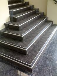 exterior stair treads and nosings. stairs, outstanding stair tread nosing exterior silver iron and grey stair: amazing treads nosings
