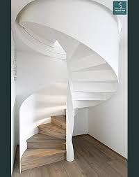Treppen aus stahl / holz. Spindeltreppen Aus Stahl Mit Modernem Design