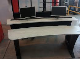 home office desk worktops. High Quality Height Adjustable Beech Worktop Desks. Perfect For Office Desks With A Dark Grey Home Desk Worktops E