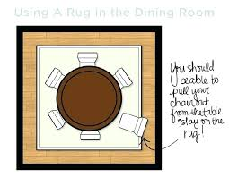 rugs under dining table size rug size under round dining table round dining table rug size