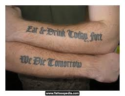 Good Tattoo Quotes Delectable Good Tattoo Design Idea Quotes 48
