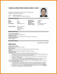Cv Sample Format Download 10 Cv Sample Pdf Download Theorynpractice