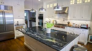 Dark Granite Kitchen Countertops Black Granite Countertops A Daring Touch Of Sophistication To