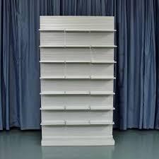 used uniweb single side pharmacy shelves 48 inch