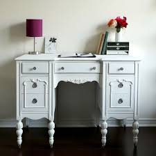shabby chic office furniture. antique desk vanity white shabby chic furniture home office vintage chalk painted