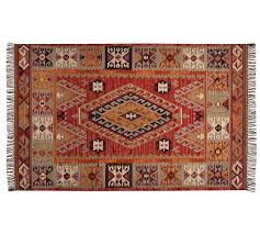 cyndy kilim recycled yarn indoor outdoor rug