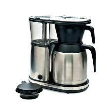 8 cup coffeemaker with thermal carafe insulated coffee maker stainless metal bonavita glass vs