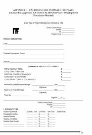 Cost Estimate Form 44 Free Estimate Template Forms Construction Repair Cleaning