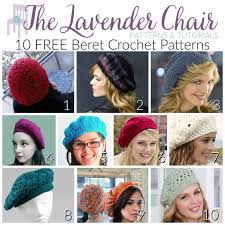 Crochet Beret Pattern New 48 Free Beret Crochet Patterns The Lavender Chair
