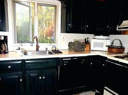 diy painted black kitchen cabinets. Diy Painted Black Kitchen Cabinets Painting Ideas Full Size Of . O