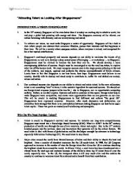 an important issue carbon trading college practice essay  foreign talent dilemma in singapore as we shall explain illustrate
