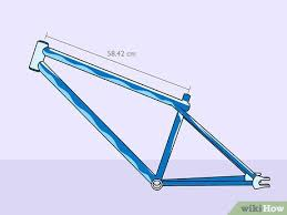 3 ways to mere a bicycle frame size
