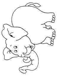 Kleurplaat Olifant Kleurplatennl Elephants Zoo Preschool