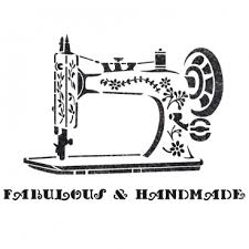 vintage sewing machine stencil for crafting diy wall decor furniture