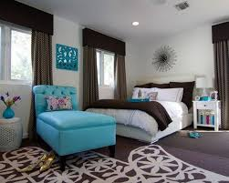 bedroom design for girls. Elegant Girl Room Ideas Furnishing With White Low Profile Bed And Accent Blue Chaise Bedroom Design For Girls