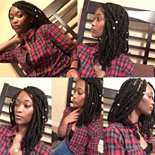 Box Braids Hair Style shoulder length bob box braids protective style protective 6486 by wearticles.com