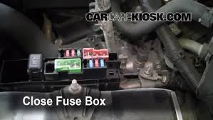 blown fuse check 2003 2007 nissan murano 2004 nissan murano sl 6 replace cover secure the cover and test component
